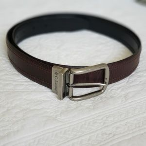 Columbia Reversible Belt with Silver Buckle